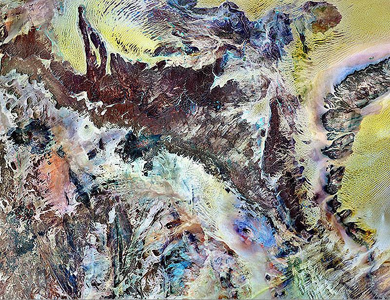 Спутниковые фотографии Земли – март 2011