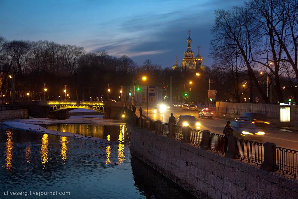 Палитра вечеров: Закаты над Фонтанкой