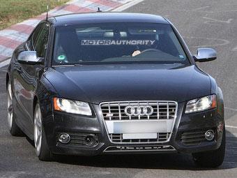 На Нюрбургринге начались испытания обновленного купе Audi S5
