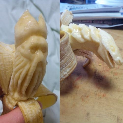 Банановое искусство