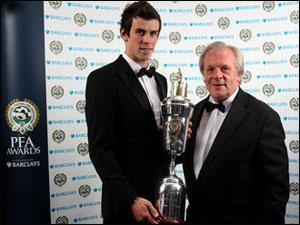Гарет Бэйл - Игрок года по версии PFA, Джек Уилшер - лучший молодой игрок года