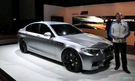 Новая BMW M5. Первые официальные фото