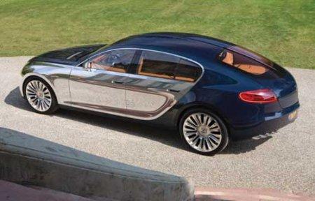 Концерн Volkswagen дал добро на производство хэтчбека Bugatti Galibier