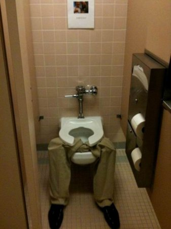 Туалет занят