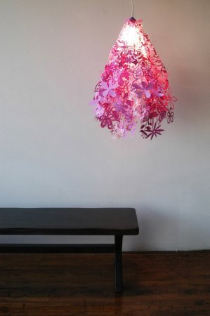 Светильники из бумаги
