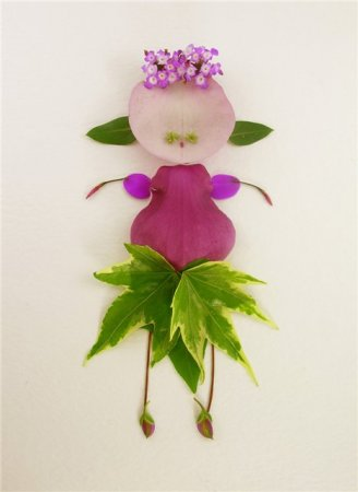 Цветочный арт Эльсы Мора