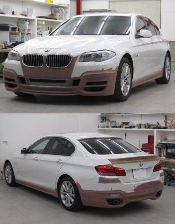 Ателье Wald поработало над новым седаном BMW 5 Series