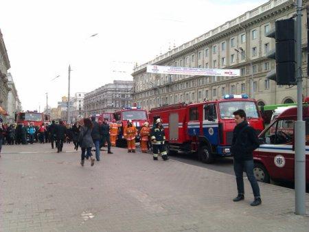 В минском метро произошел взрыв (ОБНОВЛЯЕТСЯ)