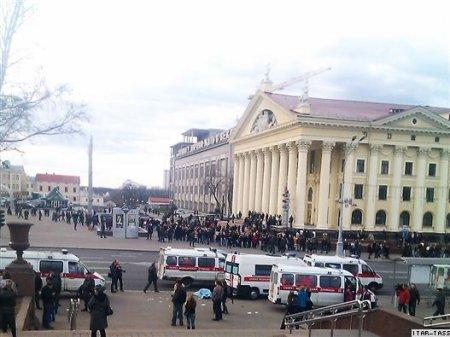 В метро в Минске прогремел взрыв (обновлено)