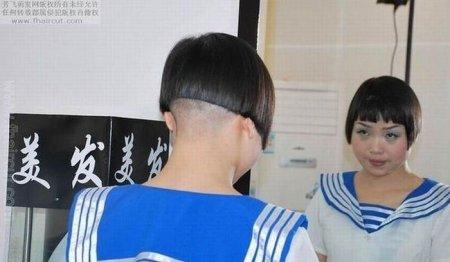 Китайские модные стрижки
