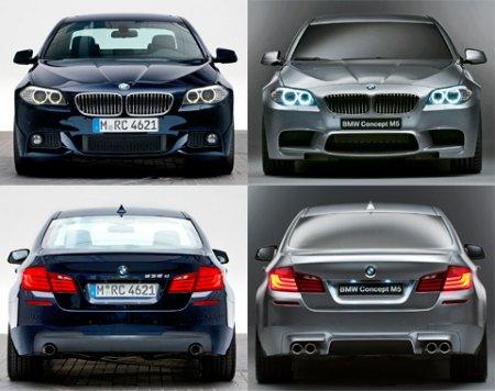 555 ����� ������� �� BMW m5 concept 2011