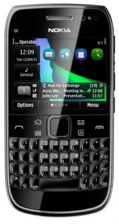 Nokia E6: новый корпоративный смартфон