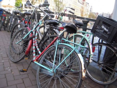 Заменим автомобиль на велосипед
