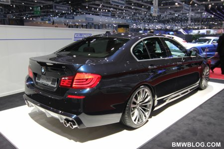Женева 2011: Новинка от Kelleners Sport — BMW 5 серии M Sport