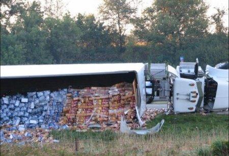 Аварии с грузовиками