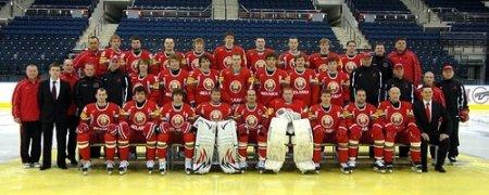 Хоккей. Сборная Беларуси победила Германию