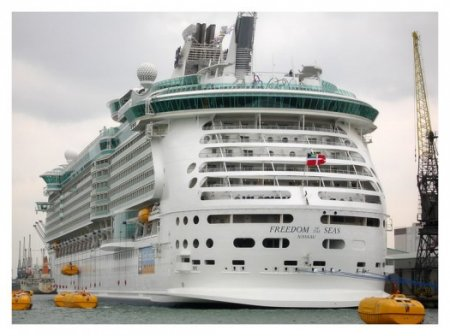 Cамый большой корабль в мире.