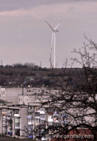 Под Новогрудком заработал самый большой в Беларуси ветряк