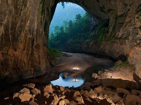 Пещера во Вьетнаме