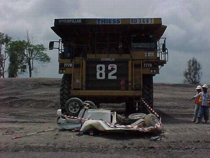 Большие машины - большие беды
