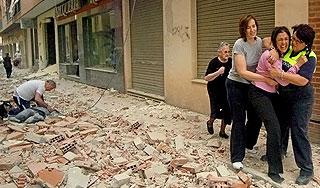Двойное землетрясение произошло в Испании