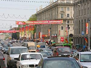 Власти Минска намерены ограничить движение в центре города