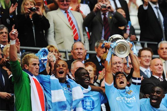 """""""Манчестер Сити"""" выиграл первый трофей за 35 лет"""