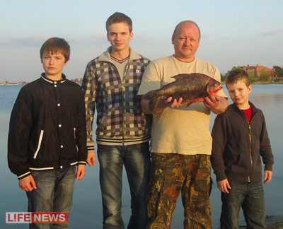Под Ростовом поймали гигантскую пиранью