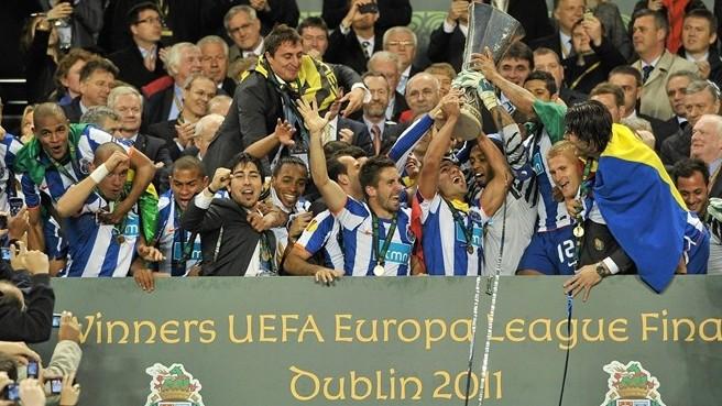 Порту победитель Лиги Европы Уефа 2010/11!