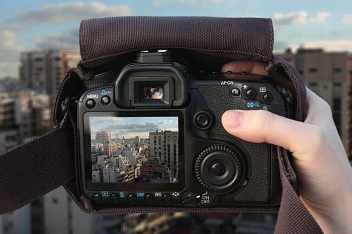 ...флейта, если дать человеку фотоаппарат, то он становится фотографом.