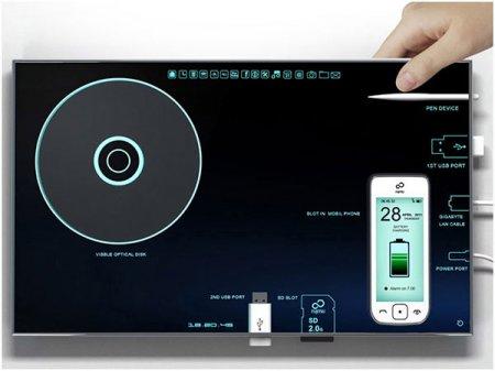 Nesting PC: концепт планшетного компьютера с наглядным интерфейсом