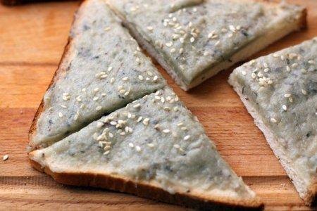 Креветочные тосты