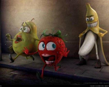 Походный жареный банан