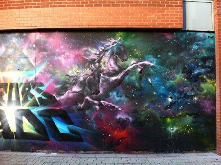 Граффити в Лондоне