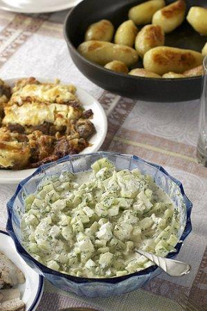 [постное блюдо] Легкий огуречный салат