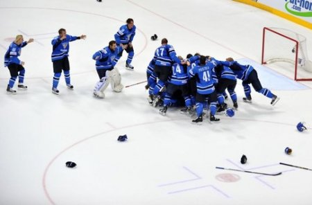 Сборная Финляндии стала чемпионом мира по хоккею !!!