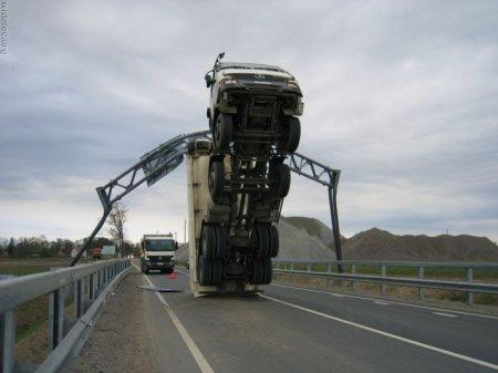 Подборка самых странных аварий - 1