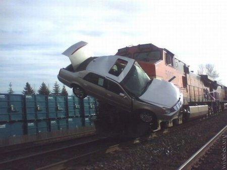 Подборка самых странных аварий - 2