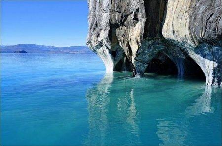Мраморные пещеры озера Буэнос-Айрес