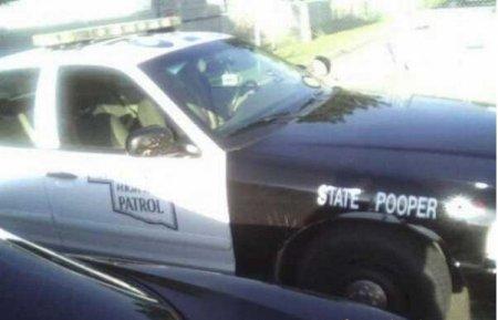 Необычные полицейские машины