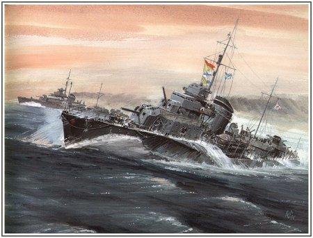 Военные корабли Емишева В.С.