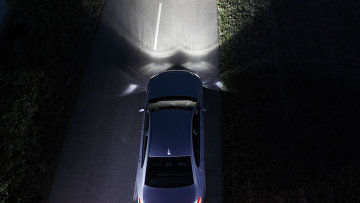 BMW представила систему обнаружения пешеходов в ночное время
