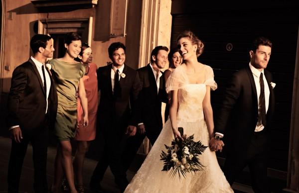 Классная свадебная фотосессия