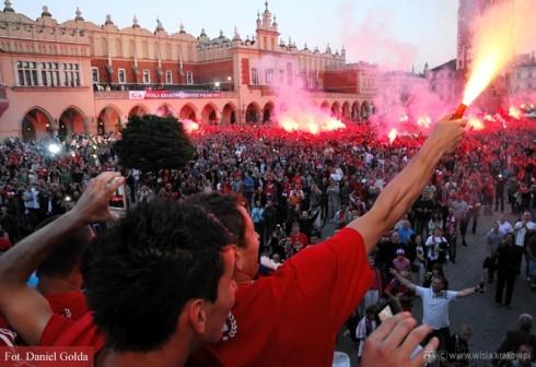 """Краковская """"Висла"""" – чемпион Польши 2010/11"""