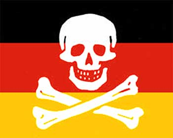 Немецкие провайдеры выявляют 300 тысяч пиратов каждый месяц