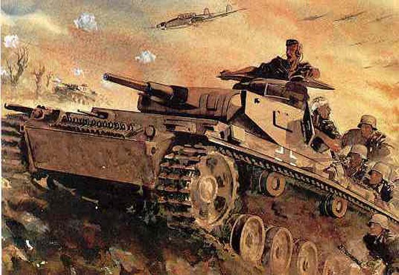 Война глазами немецких художников