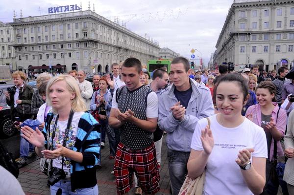 После дождя (Минск, 29 июня 2011)