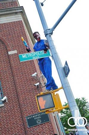 Зомби парад в Бруклине