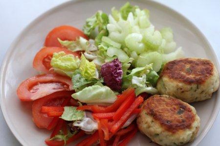Рыбно-овощные биточки