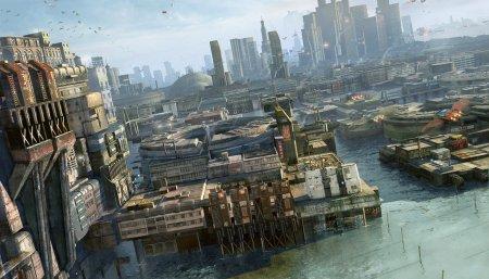 Стефан Моррелл: цифровая живопись городов будущего